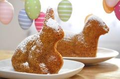 De Cake van de paashaas Royalty-vrije Stock Foto's