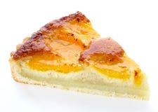 De cake van de perzik Royalty-vrije Stock Afbeeldingen