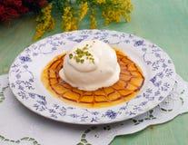 De cake van de pistache Royalty-vrije Stock Afbeelding