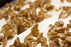 De cake van de pompoen Stock Foto's