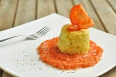De cake van de rijst royalty-vrije stock fotografie