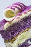 De cake van de taro stock foto