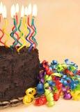 De cake van de verjaardag Stock Foto's