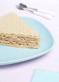 De cake van de wafel Royalty-vrije Stock Foto