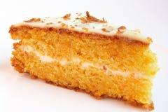 De cake van de wortel Royalty-vrije Stock Fotografie