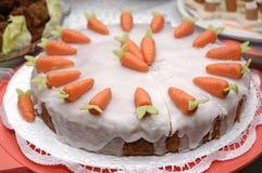 De cake van de wortel Stock Fotografie