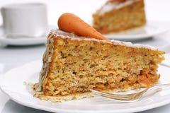 De Cake van de wortel Royalty-vrije Stock Foto