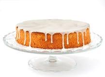 De Cake van de wortel en van de Amandel Royalty-vrije Stock Foto