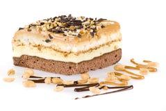 De cake van giechels Stock Afbeelding