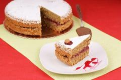 De cake van het boekweit Stock Afbeelding