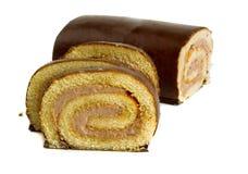 De cake van het broodje Stock Afbeelding