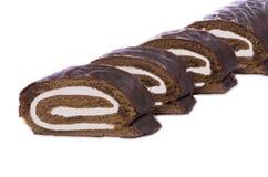 De cake van het broodje stock foto
