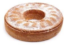 De cake van het engelenvoedsel Stock Foto