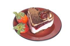 De cake van het fruit royalty-vrije stock afbeeldingen