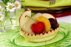De cake van het fruit Stock Afbeeldingen