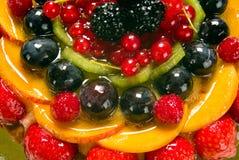 De cake van het fruit, detail Stock Afbeeldingen