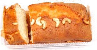 De cake van het fruit en van de noot royalty-vrije stock afbeeldingen