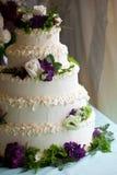 De cake van het huwelijk royalty-vrije stock fotografie