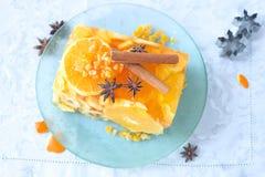 De cake van het Jellofruit stock fotografie