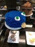De cake van het koekjesmonster stock foto's