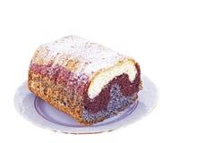 De cake van het papaverzaad Royalty-vrije Stock Afbeelding