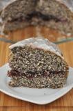 De Cake van het Papaverzaad van de citroen Royalty-vrije Stock Foto's