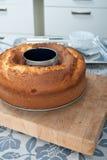 De cake van het pond Stock Foto's