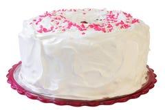 De Cake van het Voedsel van de engel Stock Foto