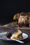 De Cake van karamelbundt Stock Fotografie