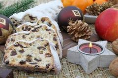 De cake van Kerstmis Royalty-vrije Stock Foto's