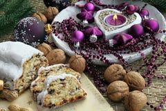 De cake van Kerstmis Stock Foto