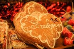 De Cake van Kerstmis Stock Afbeeldingen
