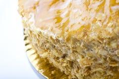 De cake van Mille feuille Stock Fotografie