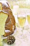 De cake van Pandorochristmas royalty-vrije stock afbeelding