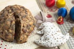 De cake van Pangiallochristamas Stock Afbeelding