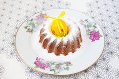 De cake van Pasen Stock Foto's
