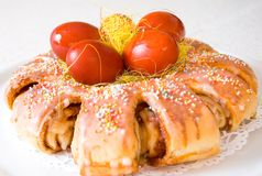 De cake van Pasen Stock Fotografie