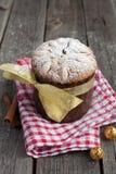 De cake van Pasen, panettone royalty-vrije stock afbeeldingen