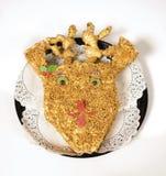 De cake van Rudolph Stock Foto