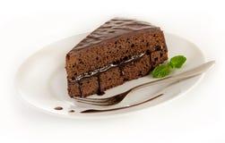 De cake van Sacher Royalty-vrije Stock Foto