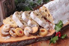 De cake van Stollen royalty-vrije stock foto