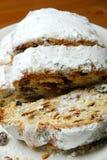 De cake van Stollen. Royalty-vrije Stock Afbeelding