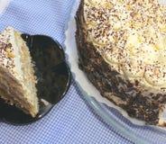 De cake van Tiramisu Royalty-vrije Stock Foto