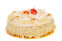 De Cake van verjaardagen Stock Afbeelding