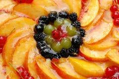 De cake van vruchten Stock Afbeeldingen