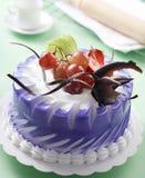 De cake van vruchten royalty-vrije stock fotografie