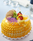 De cake van vruchten Royalty-vrije Stock Afbeeldingen