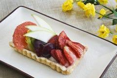 De cake van vruchten Stock Fotografie
