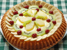 De cake van vruchten Royalty-vrije Stock Foto's