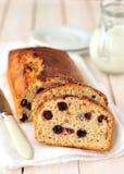 Het Brood van de Cake van de bes en van de Haver royalty-vrije stock foto's